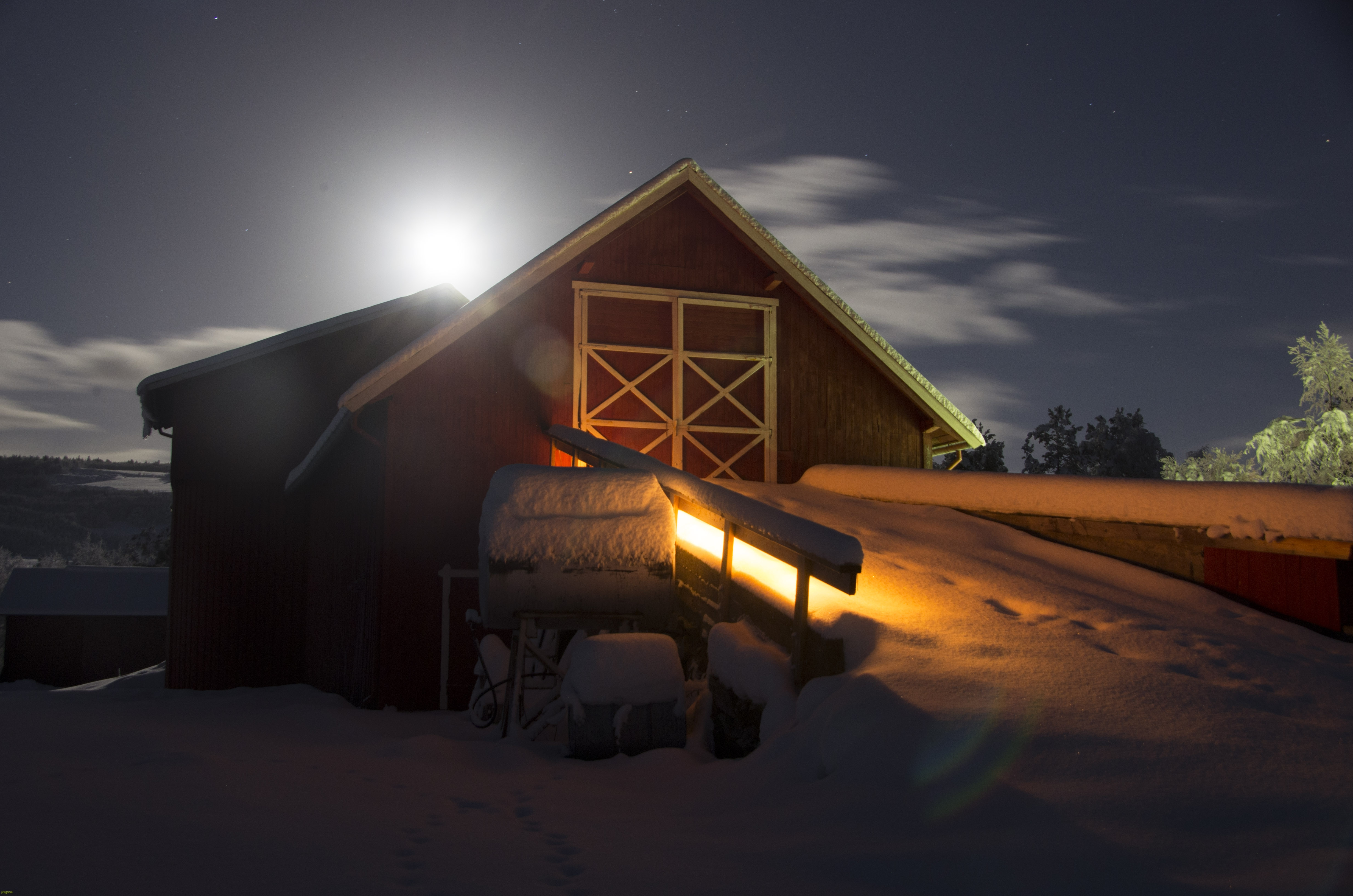 Julelåve i måneskinn, 13 des.2016