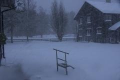 Snøstorm, november 2016