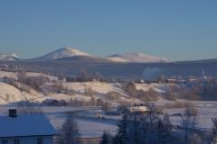 Kald januar ettermiddag i 2013