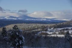 Vinterlandskap ved Langsetra