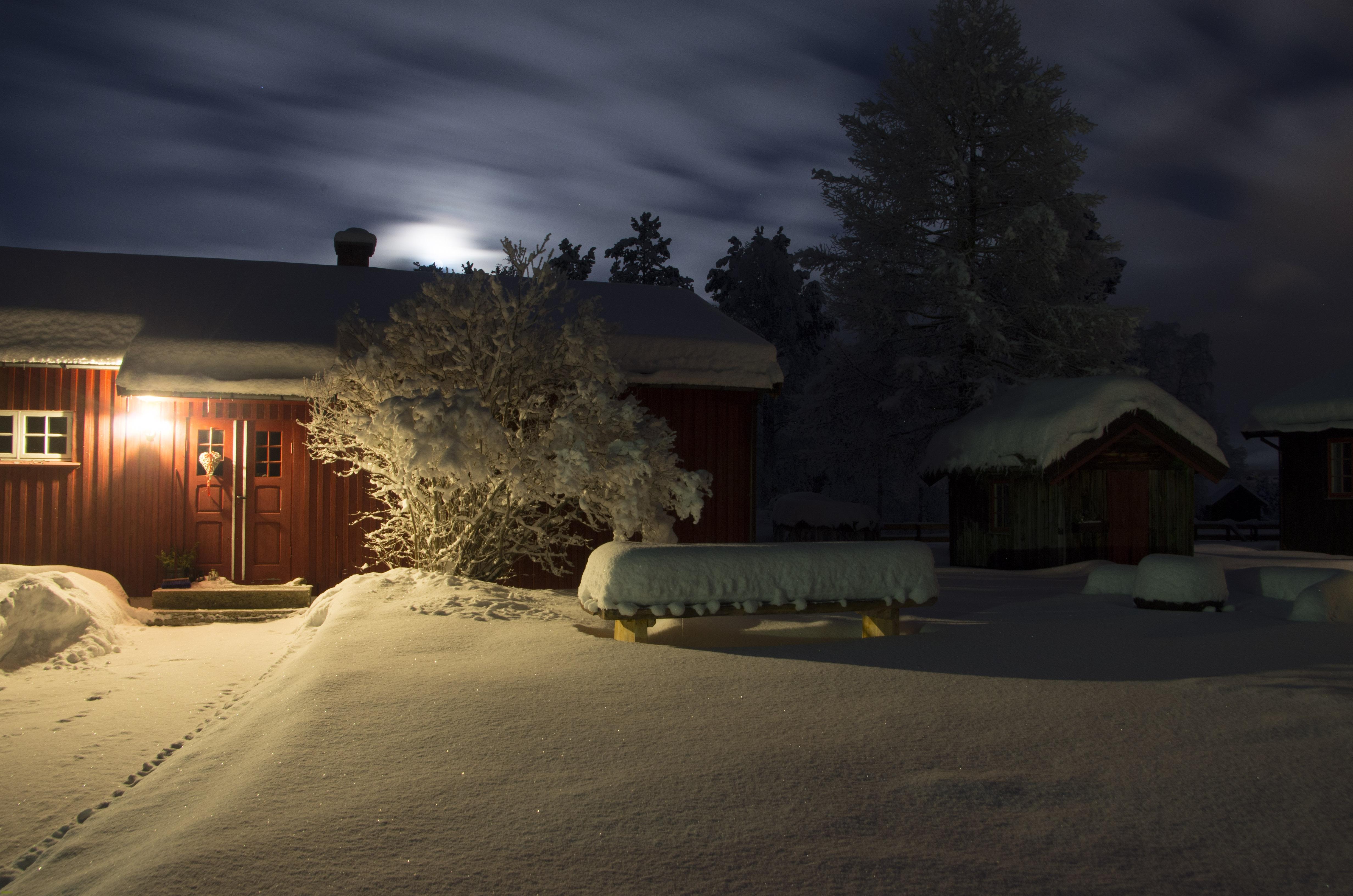 Måneskinnskveld i desember 2016