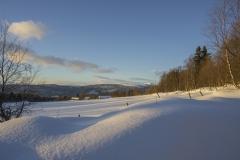 Skitur ved Gammelutbyvangan 24.12.16